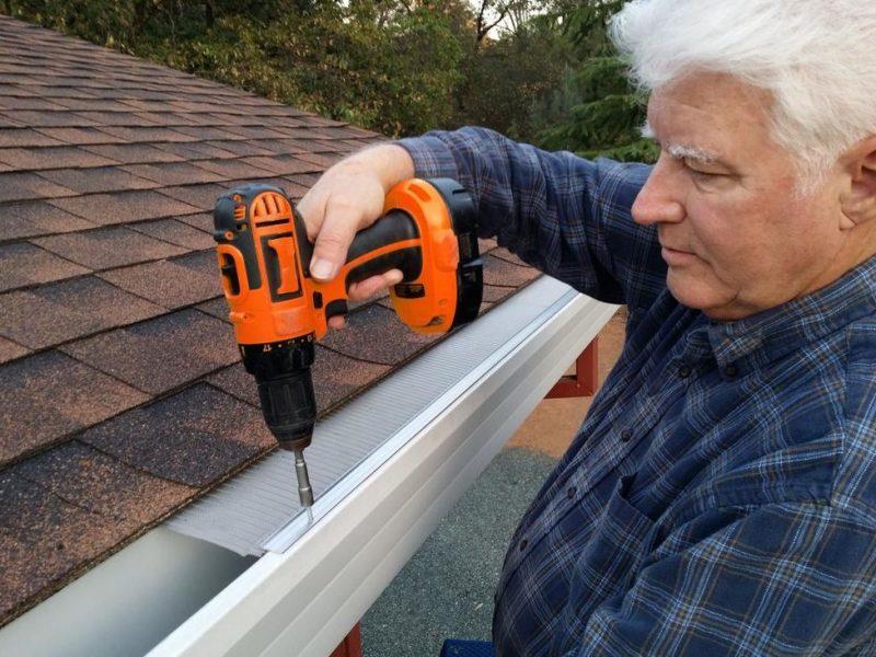 Gutter Protection, Less Maintenance